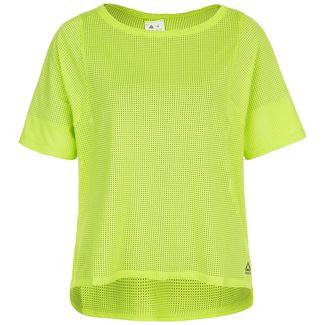 Reebok Perforated Funktionsshirt Damen hellgrün