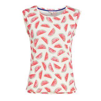 Khujo PIQUE PRINT T-Shirt Damen Melonenprint