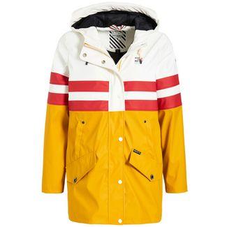 Khujo NANCY Jacke Damen gelb-weiß-rot gestreift