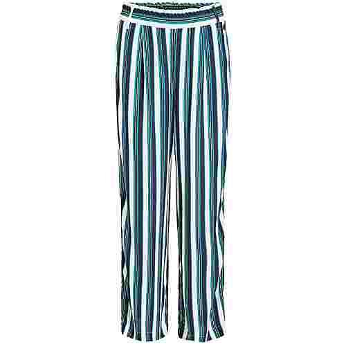 Khujo CARENE Hose Damen blau grün gemustert