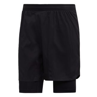 adidas Agravic Two-in-One Shorts Funktionsshorts Herren Schwarz
