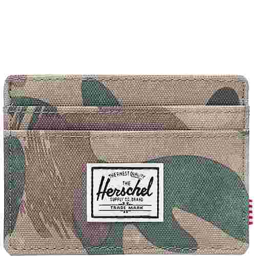 Herschel Charlie Geldbeutel hellbraun / grün