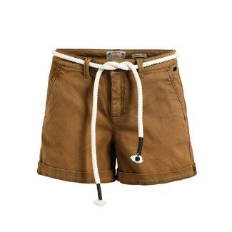 Khujo MARIANNE Shorts Damen braun