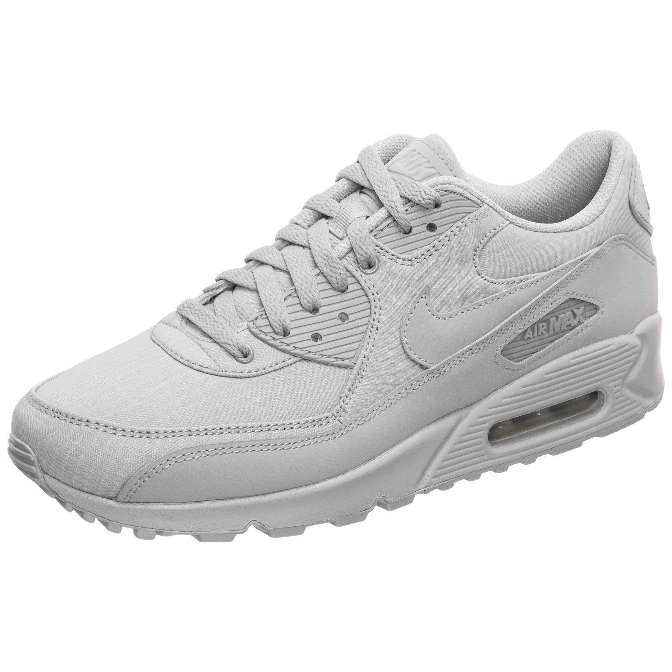 Nike sneaker air max 90 essential grau weiss sport herren