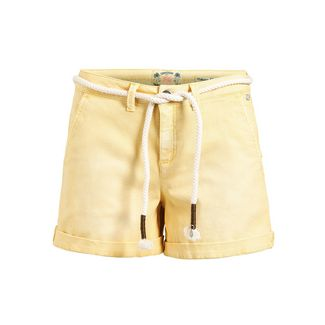 Khujo MARIANNE Shorts Damen gelb