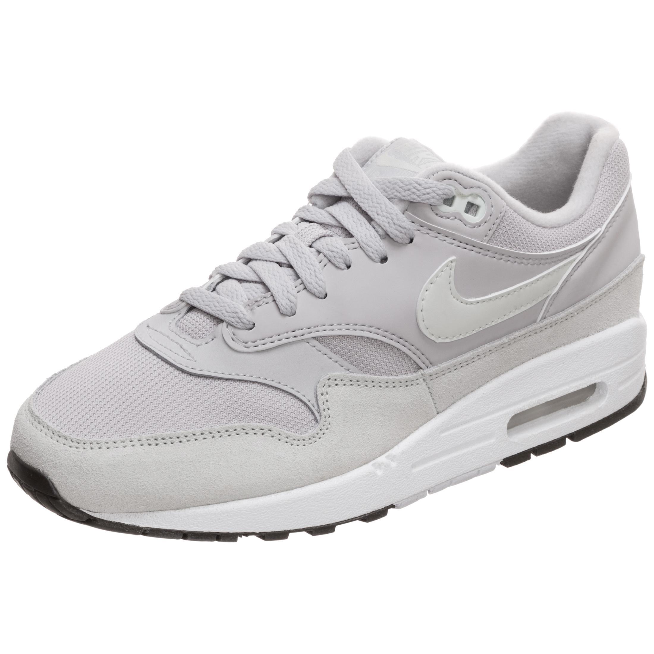 Nike – Air Max 1 – Hochwertige Sneaker in Rosa und Grau