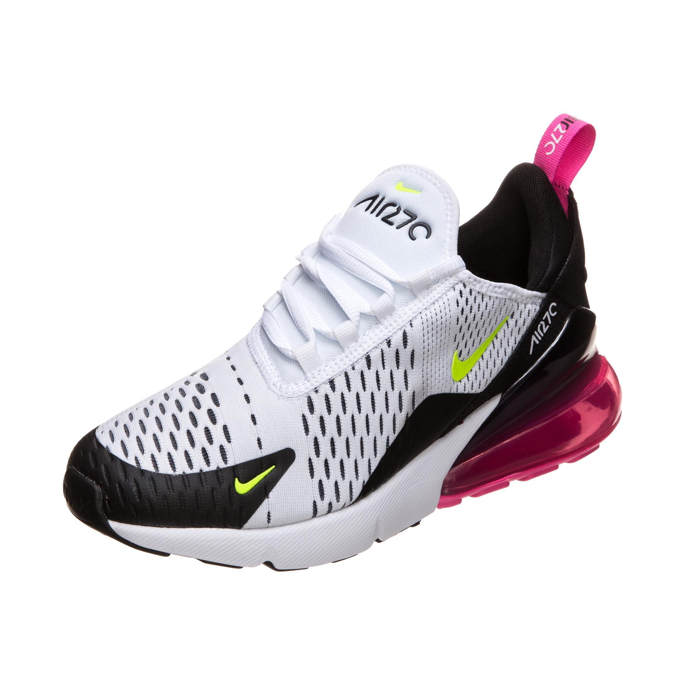 Nike Air Max 270 Sneaker Jungen weiß neongelb im Online Shop von SportScheck kaufen
