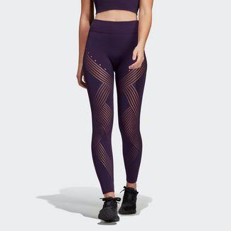 adidas Warp Knit High-Rise 7/8-Tight Tights Damen Legend Purple