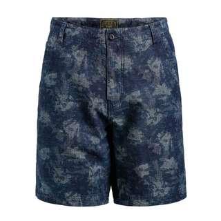 Khujo TRACK Shorts Herren blau