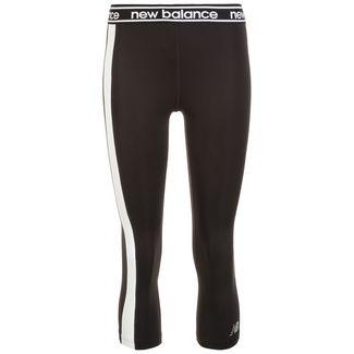 NEW BALANCE Relentless Colorblock Lauftights Damen schwarz / weiß