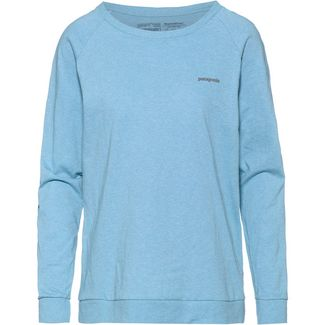 Patagonia Langarmshirt Damen break up blue