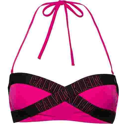 Calvin Klein INTENSE POWER 2.0 Bikini Oberteil Damen beetroot purple