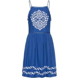 Superdry Katalina Apron Trägerkleid Damen bright blue
