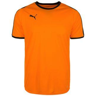 PUMA Liga Fußballtrikot Herren orange / schwarz