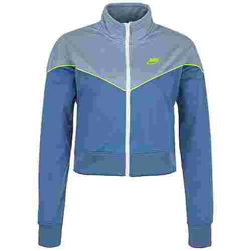 Nike Heritage Windrunner Sweatjacke Damen hellblau / blau