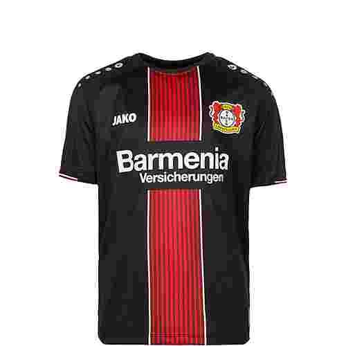 JAKO Bayer 04 Leverkusen 18/19 Heim Fußballtrikot Kinder schwarz / rot / weiß