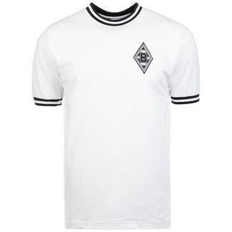 Scoredraw Borussia Mönchengladbach 1970 Fußballtrikot Herren weiß