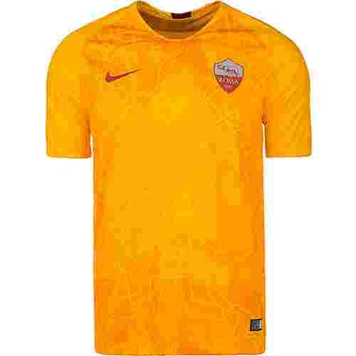 Nike AS Rom Stadium 18/19 3rd Fußballtrikot Herren gold / bordeaux