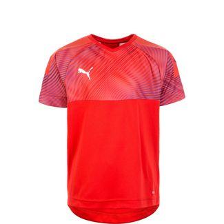 PUMA Cup Fußballtrikot Kinder rot / weiß
