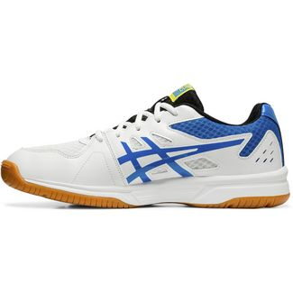 ASICS UPCOURT 3 Hallenschuhe Herren white-electric blue
