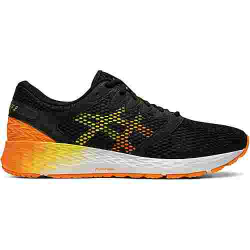 ASICS ROADHAWK FF 2 Laufschuhe Herren black-shocking orange