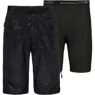 Endura Hummvee Short II Fahrradshorts Herren black camouflage