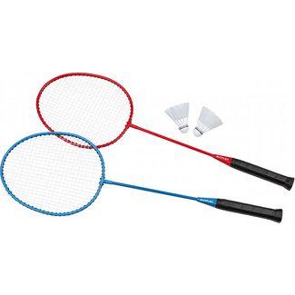 Sunflex CHALLENGE Badminton Set blau/rot