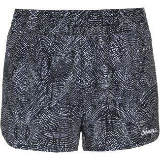 O'NEILL Essential Boardshorts Badeshorts Damen black aop-white