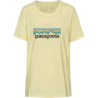 Patagonia Pastel P-6 Logo Organic Crew T-Shirt Damen resin yellow