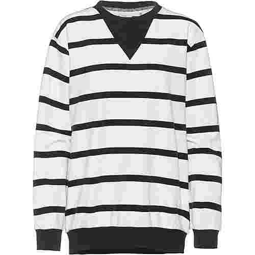 O'NEILL Essentials Sweatshirt Damen white aop with black