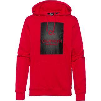 Calvin Klein Hoodie Herren high risk red-ck black