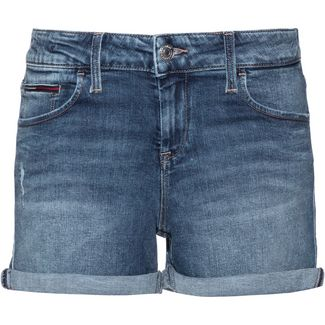 Tommy Jeans Jeansshorts Damen joy mid blue stretch