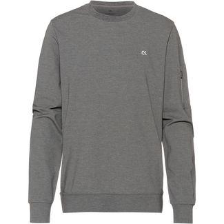 Calvin Klein Sweatshirt Herren med grey htr-ck black-lime punch