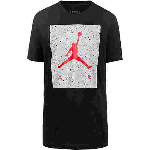 Nike Jumpman Poolside Basketball Shirt Herren black-light smoke grey-gym red