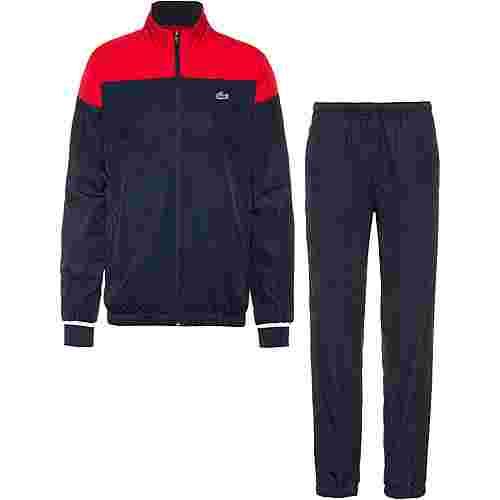 reputable site 52931 a00cf Lacoste Trainingsanzug Herren red-navy blue-white im Online Shop von  SportScheck kaufen