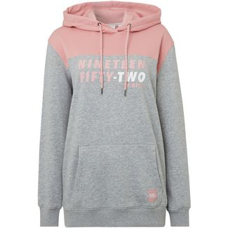 O'NEILL Indra Hoodie Damen grey aop with pink