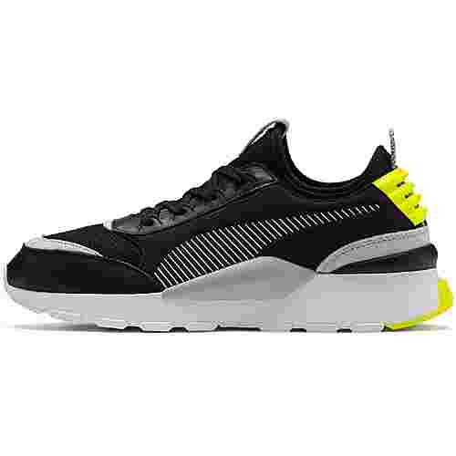 PUMA RS-0 Sneaker Herren puma black-gray violet-yellow alert