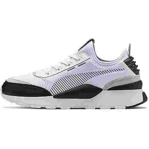 PUMA RS-0 Sneaker Herren puma white-castlerock-gray violet