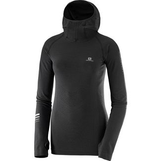 Salomon LIGHTNING PRO Langarmshirt Damen black