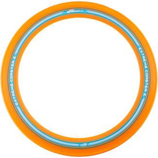 Frisbee EXTREME COASTER X Wurfscheibe orange/blau