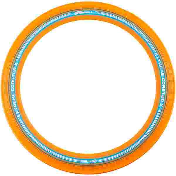 Frisbee EXTREME COASTER X Wurfscheibe orange-blau