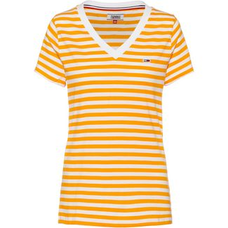 Tommy Jeans Tommy Classics T-Shirt Damen radiant yellow-classic white