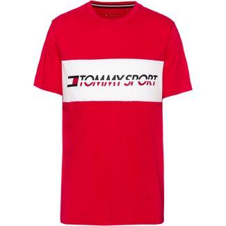 Tommy Sport T-Shirt Herren true red