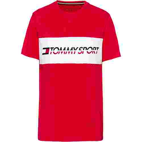 Tommy Sport T-Shirt Herren true red