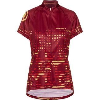 Endura HummVee Trikot Fahrradtrikot Damen red