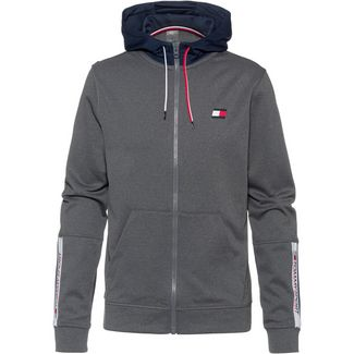 Tommy Sport Sweatjacke Herren grey heather