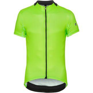 assos MILLE GT SHORT SLEEVE JERSEY Fahrradtrikot Herren visibility green
