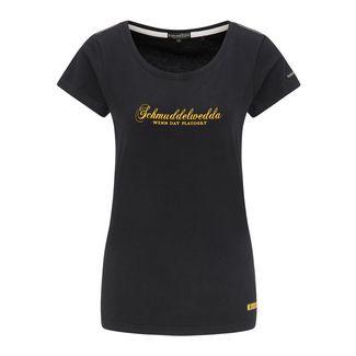 Schmuddelwedda T-Shirt Damen schwarz