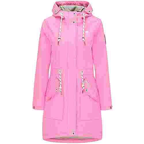Schmuddelwedda Regenjacke Damen pink melange