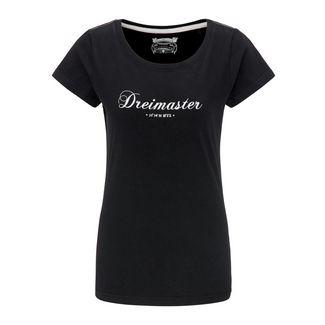DreiMaster T-Shirt Damen schwarz